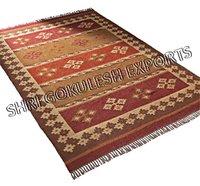 100% Jute Material Carpets For Home Decor