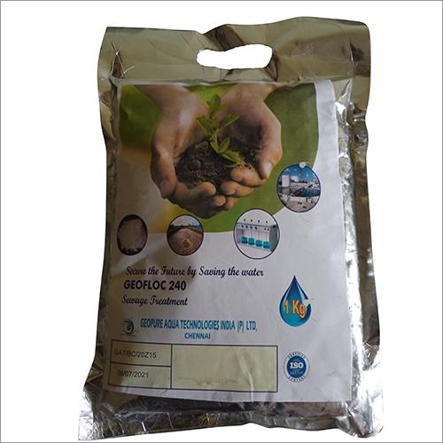 Geopure 240 Sewage Treatment