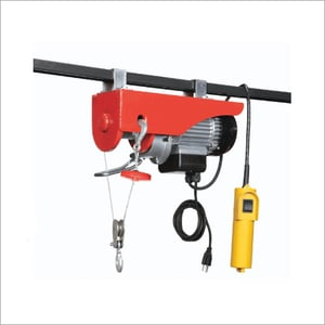Remote Control Operated Hoist And Cranes