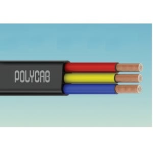 Polycab 3 Core Flat Submersible Cables
