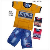 Urban Style T-Shirt With Shorts Set