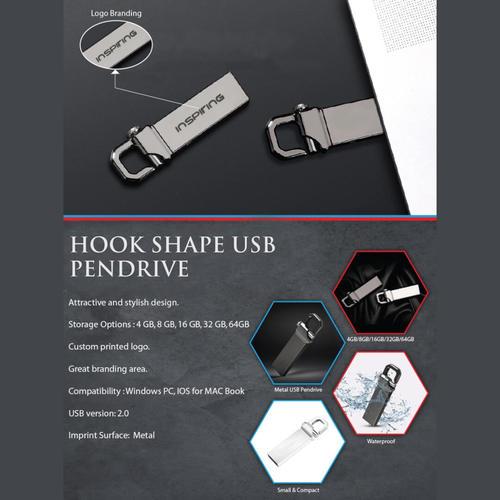 Hook Shape USB Pendrive