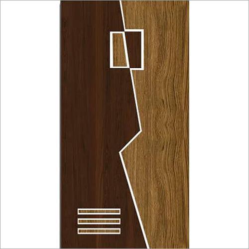 Brown Door Paper Print