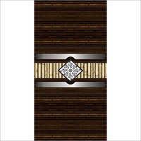 Wood Texture Door Paper Print