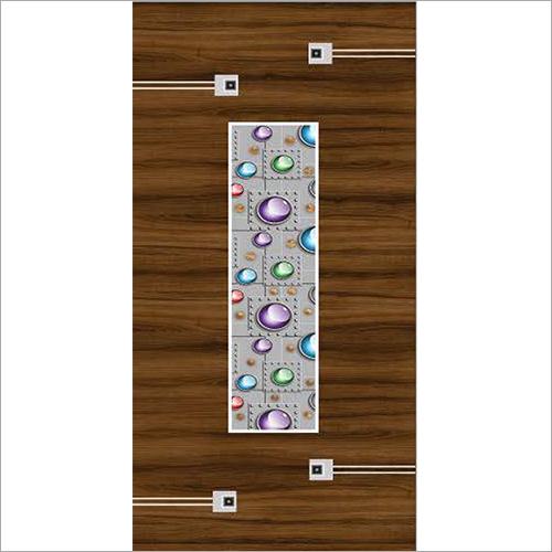Multicolor Door Paper Print
