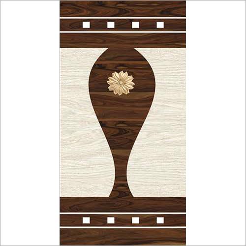 Wooden Digital Door Paper Print