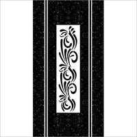 Black & White Digital Door Paper Print