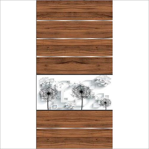 Modern Laminated Door Paper Print