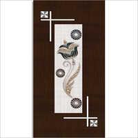 Decorative Floral Door Paper Print