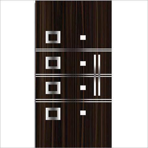 Brown Modern Door Skin
