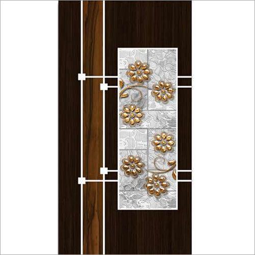 Floral Digital Door Print Skin