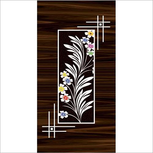 Colorful Floral Door Paper Print