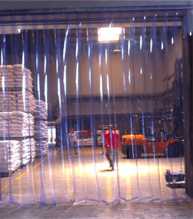 Clear PVC Strip Curtain
