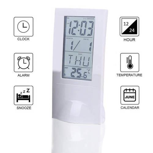 See Thru Digital Clock