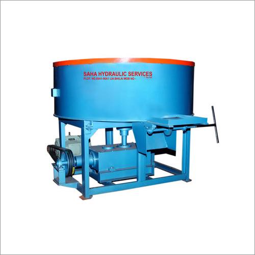 Pan Mixer Brick Machine