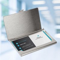 Steel Visiting Card Holder