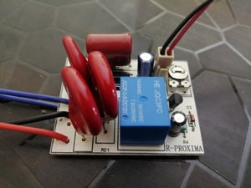 Light Controller with inbuilt LDR Sensor