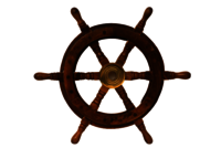 Nautical Wooden Ship Wheel 12 Inch Simple Wooden Ship Wheel For Home Decor, Wall Decor Boat And Ship,