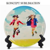 Sublimation Ceramic Plate 3D Full Printable