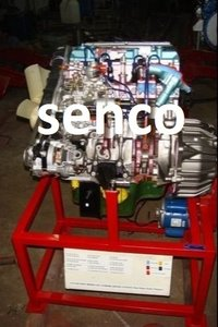 Mpfi Engine With Swevling Stand