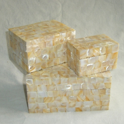 Mother of Peral Inlay Boxes