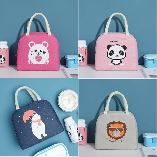 Cartoon Printed Thermal Insulated Lunch Box