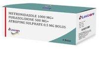 Metronidazole Furazolidone Atropine Tablet.