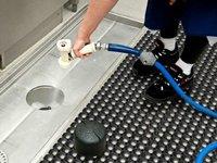 Wet Area Anti slip floor mats (With Holes)