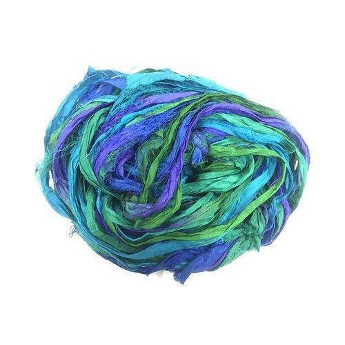 Recycled Sari Silk Riban Yarn