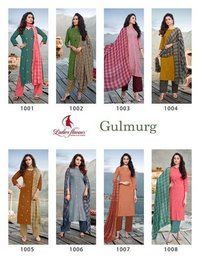 Gulmurg Rayon with Embroidery Work Kurti
