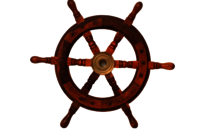 15 Inch Classic Nautical Wooden Ship Wheel
