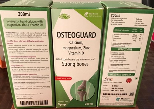 OSTEOGUARD SYRUP
