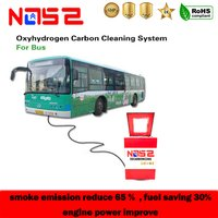 Quepem Hydro Oxy Bus Carbon Cleaning Machine