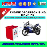 Pernem Motor Bike Carbon Cleaner Machine