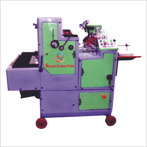 Single Color Non Woven Paper Bag Printing Machine