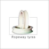 Cast Nylon Ropeway Tyres