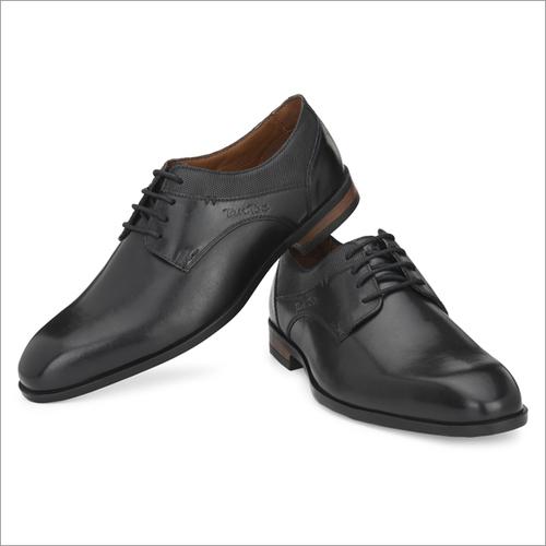 Men Black Leather Formal Shoes