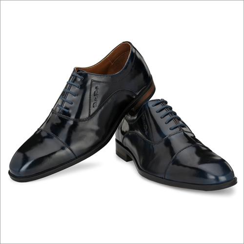 Men Black/Navy Brush Off Brogue Shoes