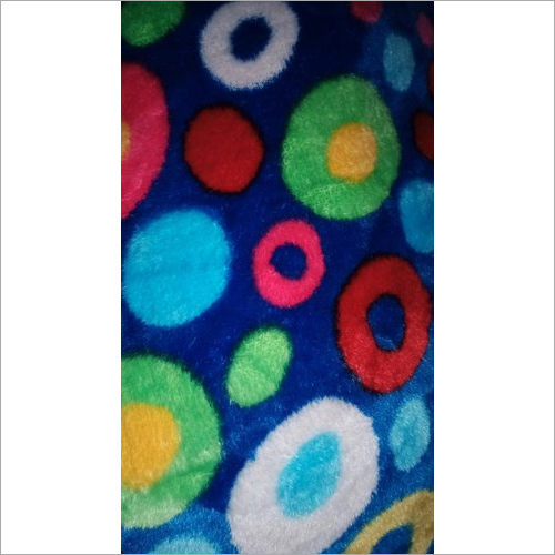 Polyester Printed Flannel Fabric