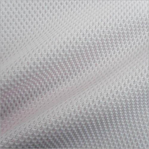 Gray Polyester Knitted Fabric