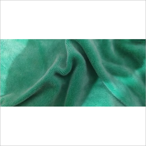 Knitted Cotton Velour Fabric