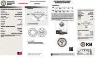 Round Brilliant Cut CVD 1.05ct Diamond H VS1 IGI Certified Lab Grown TYPE2A 447074893
