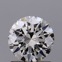 Round Brilliant Cut CVD 1ct Diamond I VS1 IGI Certified Lab Grown TYPE2A 445056261