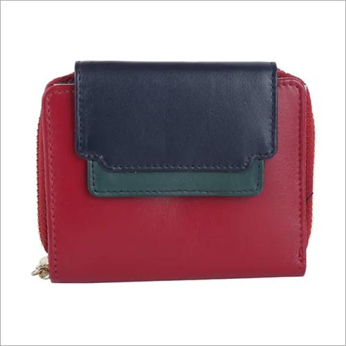 Fancy Multi Colour Leather Purse