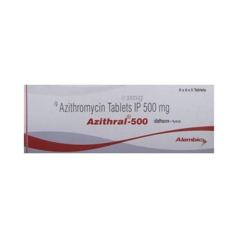 250mg Azithromycin Tablet