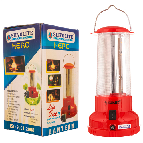 Rechargeable Glass Lantern