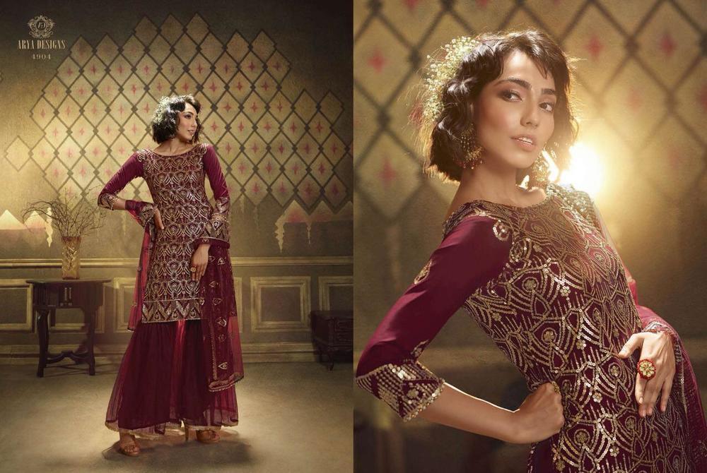Designer Sharara Suit