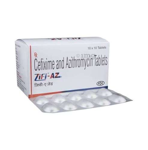 Cefixime And Azithromycin Tablet