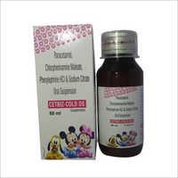 Paracetamol Chlorpheniramine Maleate Phenylephrine HCl And Sodium Citrate Oral Suspension