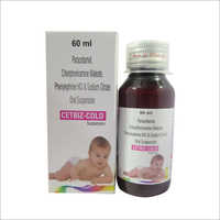 Paracetamol, Chlorpheniramine Maleate, Phenylephrine HCl And Sodium Citrate Oral Suspension